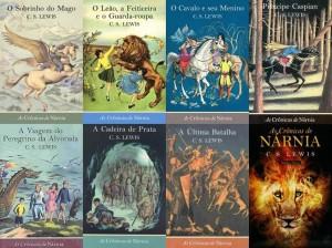 As Cronicas de Nárnia - Livros
