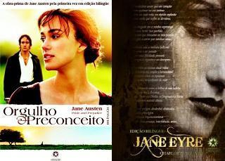 Orgulho e Preconceito, Jane Eyre
