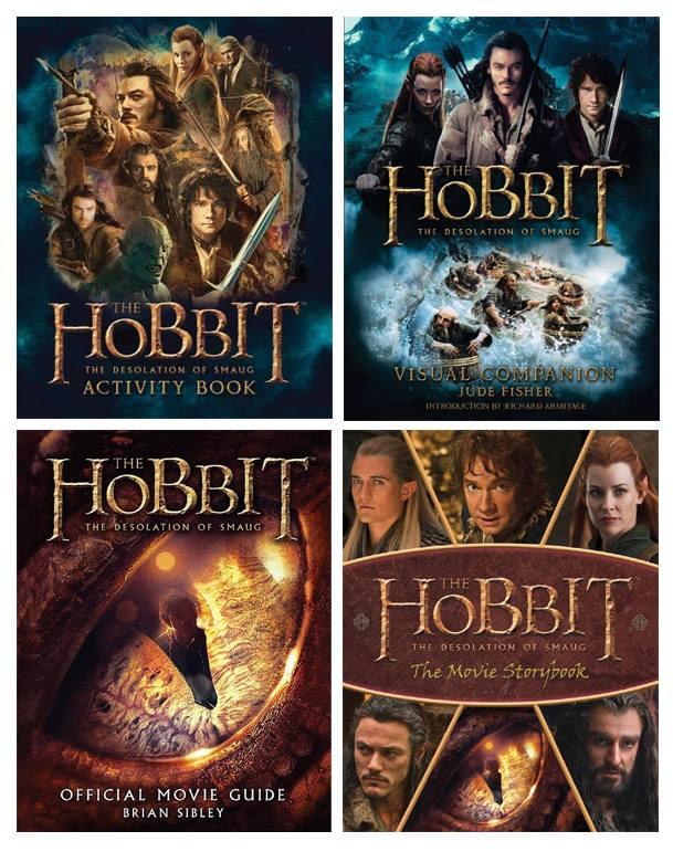 Livros sobre o filme O Hobbit