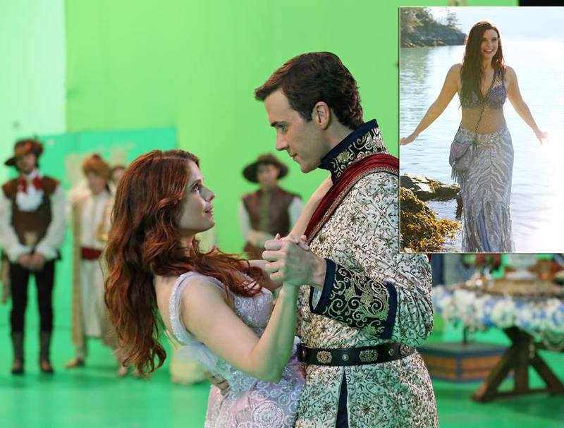 Ariel primeiras imagens Once upon a time