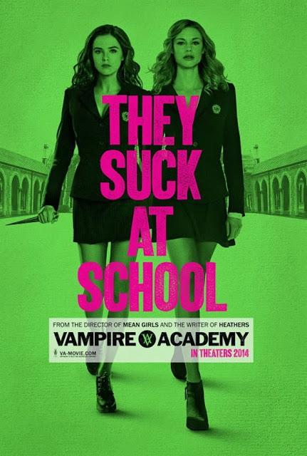 """Em tradução livre: """"Elas sugam na escola""""."""