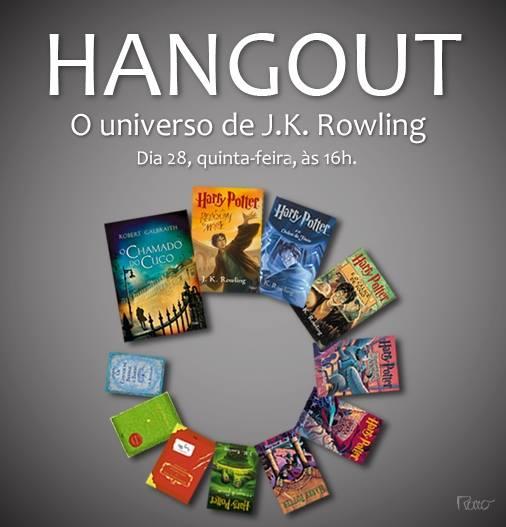 Hangout: Potterish e Editora Rocco!