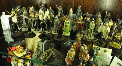[Novidades] Miniaturas metálicas dos personagens de O Senhor dos Anéis